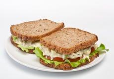 Sanduíches da salada do ovo Foto de Stock