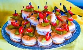 Sanduíches de turquia Fotografia de Stock Royalty Free