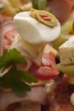 Sanduíches deliciosos frescos Imagem de Stock Royalty Free