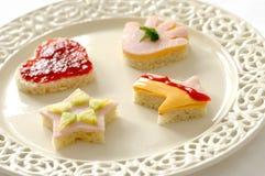 Sanduíches engraçados Imagens de Stock