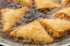Sanduíches fritados Fotografia de Stock Royalty Free