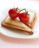 Sanduíches saborosos Imagem de Stock Royalty Free