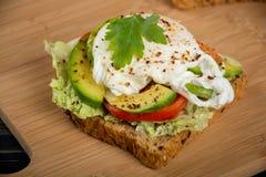 Sanduíches saudáveis para o café da manhã Fotos de Stock