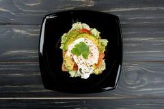 Sanduíches saudáveis para o café da manhã Imagem de Stock Royalty Free