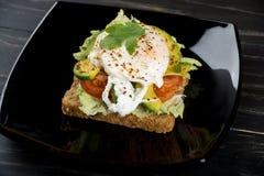 Sanduíches saudáveis para o café da manhã Imagens de Stock Royalty Free