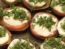 Sanduíches vegetais Imagens de Stock Royalty Free