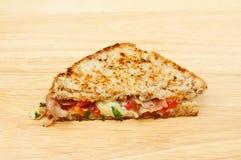 Sanduíche brindado do queijo Fotos de Stock
