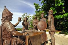 Sandugo, Blood Compact Shrine (Bohol, Philippines) Royalty Free Stock Image