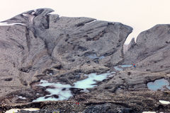 Sandur (glacial flood plain), South Iceland Stock Photo