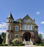 Sandusky County Jail and Sheriff`s House Royalty Free Stock Photos
