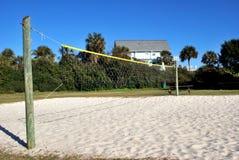 Sandvolleyboll Fotografering för Bildbyråer