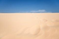 Sandwüste Lizenzfreie Stockbilder