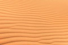 Sandwüstenhintergrund mit Windkräuselung lizenzfreies stockbild