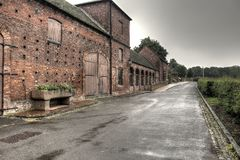 Sandwell Park Farm nr West Bromwich , England royalty free stock photography