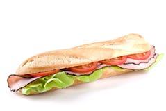 Sandwich à baguette Images libres de droits