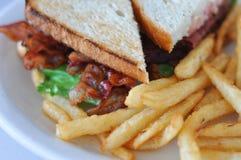 Sandwich à BLT Photo libre de droits