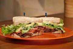 Sandwich à BLT images stock