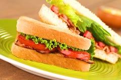 Sandwich à BLT Photographie stock libre de droits