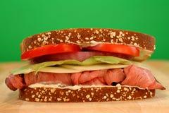 Sandwich à boeuf de rôti Image stock