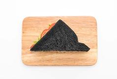 sandwich à charbon de bois de thon Photos libres de droits