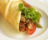 Sandwich à Charwama Photographie stock