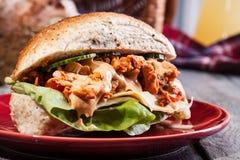 Sandwich à chiche-kebab Photo stock