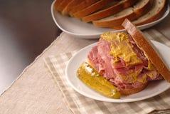 Sandwich à corned beef photo stock