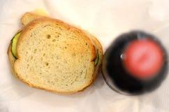 Sandwich à courgette Photos libres de droits