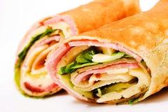 Sandwich à enveloppe Images libres de droits