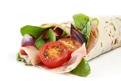 Sandwich à enveloppe Photographie stock libre de droits