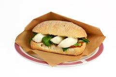 Sandwich à filet d'americain de filet de roulis. Photo stock