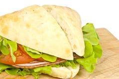 Sandwich à Focaccia image stock