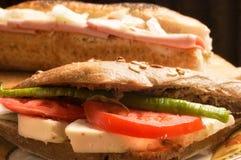 Sandwich à fromage Photo stock