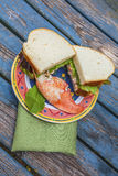 Sandwich à homard Photos stock