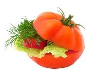 Sandwich à légumes Photos libres de droits
