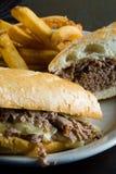Sandwich à la viande Images stock