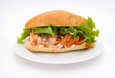 Sandwich à langoustine Images stock