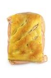 Sandwich à mortadelle Photo libre de droits