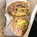 Sandwich à oeufs Photos libres de droits