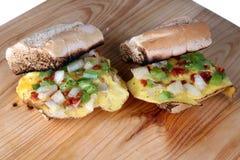 Sandwich à oeufs photos stock