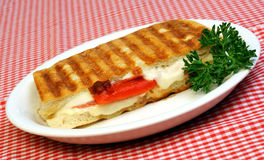 Sandwich à Panini image stock
