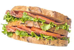 sandwich à pastrami photos stock