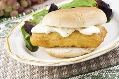 Sandwich à poissons Photos libres de droits
