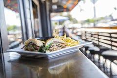 Sandwich à porc Images stock