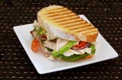 Sandwich à poulet Photo stock