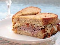 Sandwich à Reuben Photographie stock