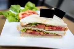 Sandwich à salade Photo libre de droits