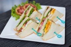 Sandwich à salade d'oeufs Image libre de droits