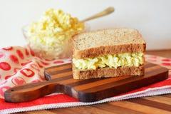 Sandwich à salade d'oeufs Photo libre de droits