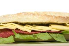 Sandwich à salami Photo libre de droits